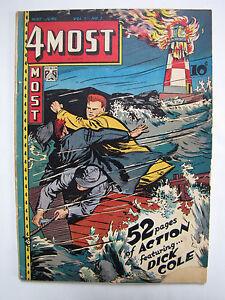 4Most Comics #Vol. 7#3 [28] (May-Jun 1948, Novelty Press) [VG+ 4.5]