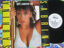 Sabrina ‎– Boys (Summertime Love) Ibiza Records IBIZX 1 Vinyl 12inch Maxi-Single
