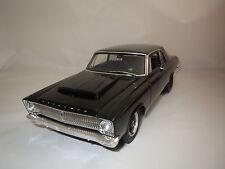 "Highway 61  Plymouth  Belvedere  ""1965""  (schwarz) 1:18  ohne Verpackung !"