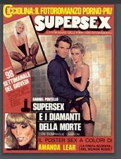Rivista Vintage erotica SUPERSEX #98 1983 Illona Staller scan PDF RARISSIMA!