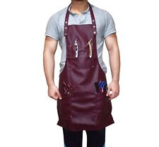 Fully Adjustable Apron in Black One Size Fits All Work Wear Barber/Hairdresser