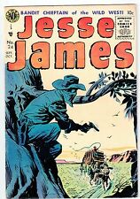 1955 Avon Publications #24 JESSE JAMES vintage comic VG+!!!