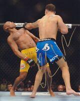 CHRIS WEIDMAN SIGNED UFC 8X10 PHOTO