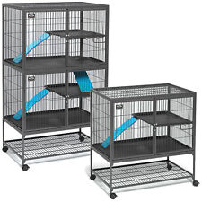 Midwest Ferret Nation Cage Single Double with Stand - Easy Assemble Happy Safe