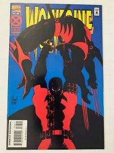 Wolverine #88 1st Deadpool Vs Wolverine Battle VF+ Marvel Comics