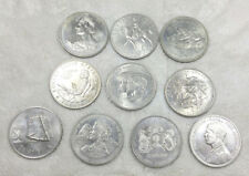 (10) different crowns and crown size coins - free ship