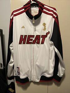 NBA Miami Heat TRB Trophy Ring Banner Jacket Championship 2006 2012 Size L