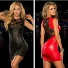 Sexy Women Bandage Bodycon Lace Slim Evening Party Cocktail Clubwear Mini Dress