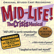 Bob Walton & Jim Wal - Mid-Life! the Crisis Musical [New CD]