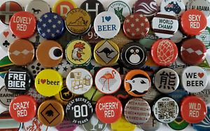 100 Beer Bottle Caps 500+ Designs BEST MIX GUARANTEE Zero Defects