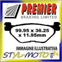 PASTIGLIE FRENI POSTERIORI ORGANICHE PREMIER YAMAHA XP 500 N/P/R T Max 2003