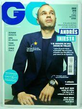 REVISTA MAGAZINE GQ SPAIN Nº 244 JUNE 2018 COVER ANDRES INIESTA