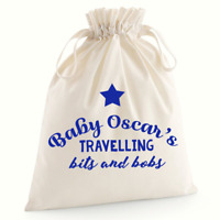 Personalised Babies Bits and Bobs Bag Baby Shower Gifts Baby Nappy Bag Custom G