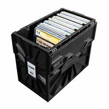 (1) BCW SHORT COMIC Storage BIN - Plastic- GRADED - Black