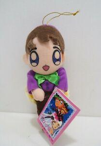 """Kaitou Saint Tail Rina Takamiya SEGA 1996 Plush 7"""" Toy TAG Doll Japan"""