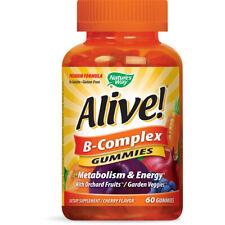 NATURE'S WAY - Alive! B-Complex Premium Gummies - 60 Gummies