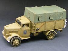 King & Country's AK037 Opel Blitz German Truck (Afrika Korps Version) - RETIRED