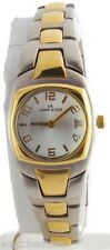 Anne Klein Women's Duo Gold tone Silver Dial Stainless Steel Watch 10/5535