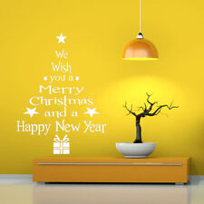 Wall Art Removable Home Window Wall Stickers Decal Party New Merry Christmas