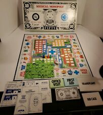 Vintage 1979 MEDICAL MONOPOLY GAME by Prof Games Inc COMPLETE- (replaced dice)