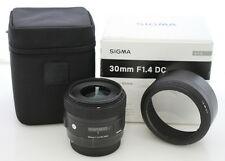 Sigma 30mm f/1.4 DC Art Lens for Canon