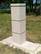 Gate Piers Pillars Cast Stone PG-06