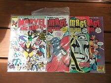 MARVEL AGE ANNUAL 4 1ST APPEARANCE DAMAGE CONTROL AND  VOLUME 1 # 1 2 3  tv show