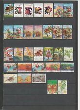 CHRISTMAS ISLANDS : 31 USED STAMPS