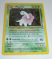 Pokemon Neo Genesis - Meganie Holo - 10/111 - NM - Deutsch