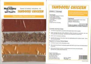 Nice 'n Spicy Tandoori Chicken Sachet
