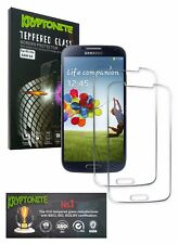 KRYPTONITE Samsung Galaxy S4 Tempered Glass Screen Protector-2 Pack, Bubble free