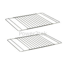 2 x Philips Universal Adjustable Oven/Cooker/Grill Shelf Rack Grid Extendable UK