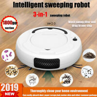 Self Navigated Auto Sweeper Hair Clean Rechargeable Smart Robot Vacuum Cleaner