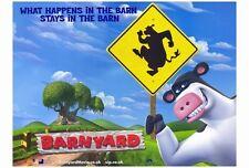 BARNYARD Movie POSTER 27x40 B Kevin James Maria Bamford Courteney Cox Earthquake