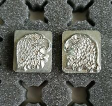 3D Craftool Leather Tool Stamp, L&R Eagle Heads, 8361 & 8344