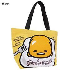 "Sanrio Gudetama Mini Tote Bag/""Languid""/School,Mother Bag/Leisure/Hand Bag/New"