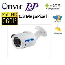 Outdoor ONVIF 960P HD IP Network Security Camera P2P POE 20m IR Night Vision