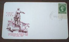 SOUTH AUSTRALIA 1955 PRINTING ERROR FIRST DAY CARD - ANPEX, CENTENARY  3 1/2d
