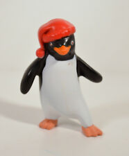 "2006 Foot Stomp Rinaldo Red Hat 3"" Penguin Action Figure Burger King Happy Feet"