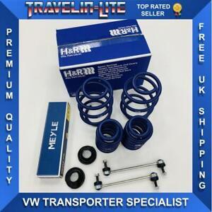 T5 T5.1 T6 H&R Springs 50mm Meyle HD Droplinks Suspension Cups 1501>-1561 KG