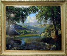 Bradley Elsberry Landscape Ori Oil Painting on canvas Hand Signed Make an Offer