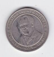 1993 10 Shilingi Tanzania Coin Coat of arms of Tanzania B-11