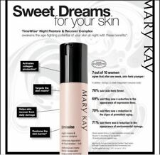 NEW in Box MARY KAY Timewise NIGHT RESTORE & RECOVER COMPLEX Combo to Oily Skin