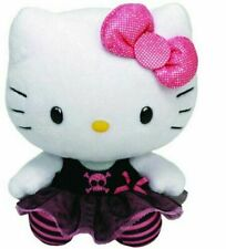 """Hello Kitty Skull Tutu Dress 10"""" LARGE TY Beanie Baby New with Tags"""