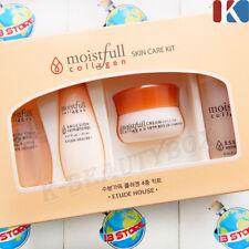 ETUDE HOUSE Moistfull Collagen Skin Care Toner + Emulsion + Essence + Cream Set