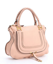 New Chloe Large Marcie Leather Satchel Shoulder Bag Blush Nude Pretty! NWT $2090
