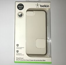 """Belkin SheerForce ELITE Case For iPhone 7 & 8 (4.7"""") Clear/Gold NEW IN BOX"""