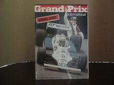GRAND . PRIX INTERNATIONAL No 22 JULY 21 th 1980