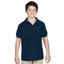 Magliette, maglie e camicie blu in misto cotone con polo per bambini dai 2 ai 16 anni