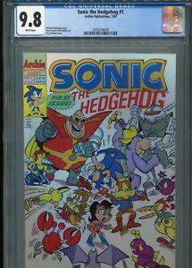 Sonic the Hedgehog #1  (Archie 7/93)   CGC 9.8 WP